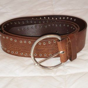 3FOR15$ brown tan PU leather belt